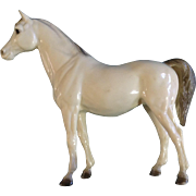 Vintage Breyer Horse, The Family Arabian Mare 1961- 1973 Glossy Alabaster Plastic Figurine