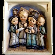 "Goebel Hummel Wall Plaque #134 ""Quartet"" - 6 1/4"" Tall - Made in Germany TMK5 Ceramic"
