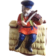 Fiddler On The Roof Music Box Plays, Sunrise Sunset Ceramic Figurine Japan