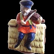 Fiddler On The Roof Music Box Plays, Sunrise Sunset Ceramic Figurine Japan