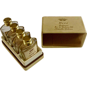 Vintage Hove Parfumuer Rue De Toulouse 723 Novelle Orleans Perfume Bottle Set in Original Box