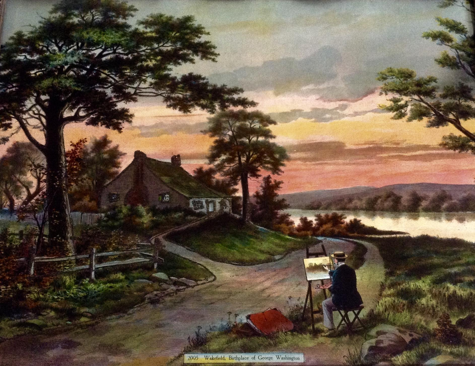 wakefield birthplace of george washington popes creek from