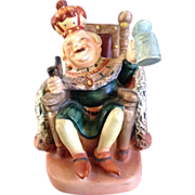 Lefton Figurine Old King Cole 1102 Japan Nursery Rhyme Vintage