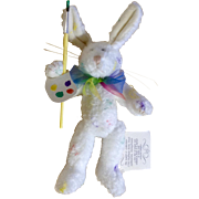 RARE 1985-1997 Retired  Boyds Easter Bunny Rabbit J.B. Bean Jellies By Judith Glassick Wiley Collection Pennsylvania Stuffed Plush Animal