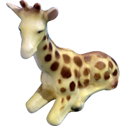 Vintage Victoria Ceramics Giraffe Porcelain Animal African Wildlife Figurine Made in Japan