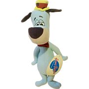 Vintage Huckleberry Hound Hanna-Barbera Collection Warner Brothers Cartoon Stuffed Plush Dog Animal 15""