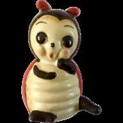 Vintage Josef Originals Ladybug Ceramic Japan Animal Figurine