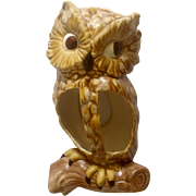 1967 Jamar Mallory Ceramics Studio Owl Wall Pocket