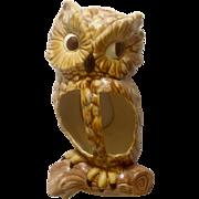 1967 Jamar Mallory Ceramics Studio Owl Wall Pocket