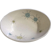 "Franciscan Starburst (1954 - 1966) Franciscan 8 3/8"" Oval Vegetable Bowl"