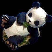 Andrea By Sadek Panda Bear Porcelain Figurine 1985 Animal Made in Japan