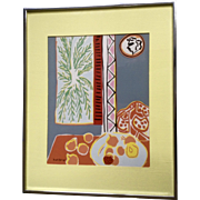 Henri Matisse, 'Still Life with Pomegranates' Serigraph Silk Screen Print