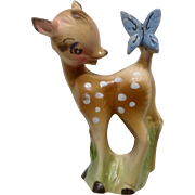 Mid-Century Bambi Fawn Deer Products Ceramic Figurine