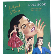 Vintage Uncut 1950's Hollywood Glamour Paper Doll Book Abbott