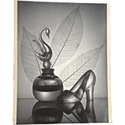 Marion L Paglow (1925-1999), Cinderella Fantasy, Black and White Enlarged Photograph 1959 Large Amateur Photo