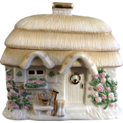 Lenox Cottage with Roosters The Irish Blessing Music Trinket Box When Irish Eyes are Smiling Ceramic Figurine