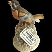 Robin Bird Bell Figurine Towle Fine Bone China
