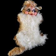 Rushton Stuffed Animal Plush Raccoon Rubber Face Atlanta Georgia Toy Company 1950's.