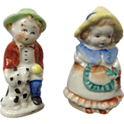 Occupied Japan Porcelain Figurines Dutch Couple