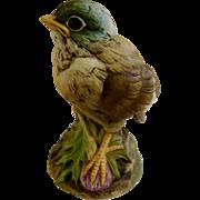 Andrea by Sadek Gold Finch Bird Ceramic Figurine Japan 6350