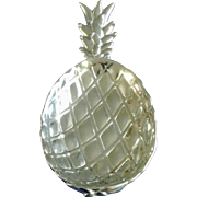 Unique Vintage Pineapple Serving Dish Wilton Armetale Pewter Bowl RWP Plate