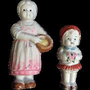 Vintage Bisque Doll Children Girl Figurines Made in Japan