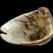 Antique Royal Bayreuth Bavaria Bird Figural Trinket Dish Ashtray Very Rare Bowl