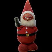Vintage West Germany Paper Mache Santa Claus Bobble Head Nodder Candy Container