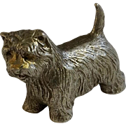 Westie Dog Rawcliffe Pewter P. Davis Miniature Animal Figurine