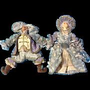 Wayne Kleski Katherine's Collection Monkey Dolls Victorian Dressed for Royal Court Retired
