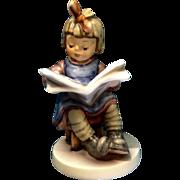 "Hummel Figurine ""What's New?"" # 418 Goebel Little Girl Reading News Paper 5 -3/4"""