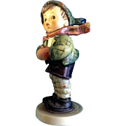 "Hummel Figurine ""It's Cold"" # 421 Goebel Little Boy Dressed For Winter 5 -1/4"""