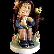 "Hummel Figurine ""She Loves Me, She Loves Me Not"" #174 Goebel Little Boy with a Flower 4-1/2"""