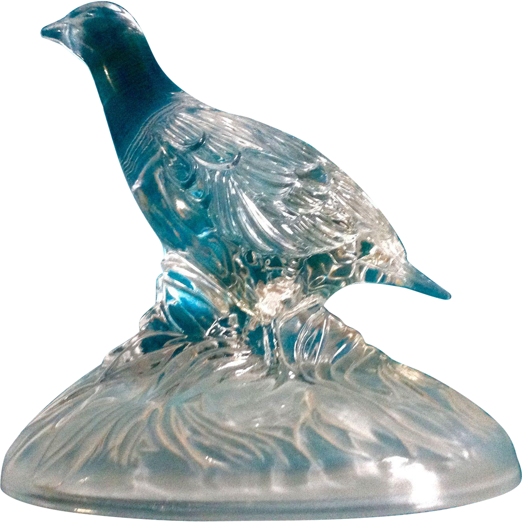 Arques France  city photos gallery : Vintage Cristal D'Arques Durand France 24% Lead Crystal Quail Grouse ...