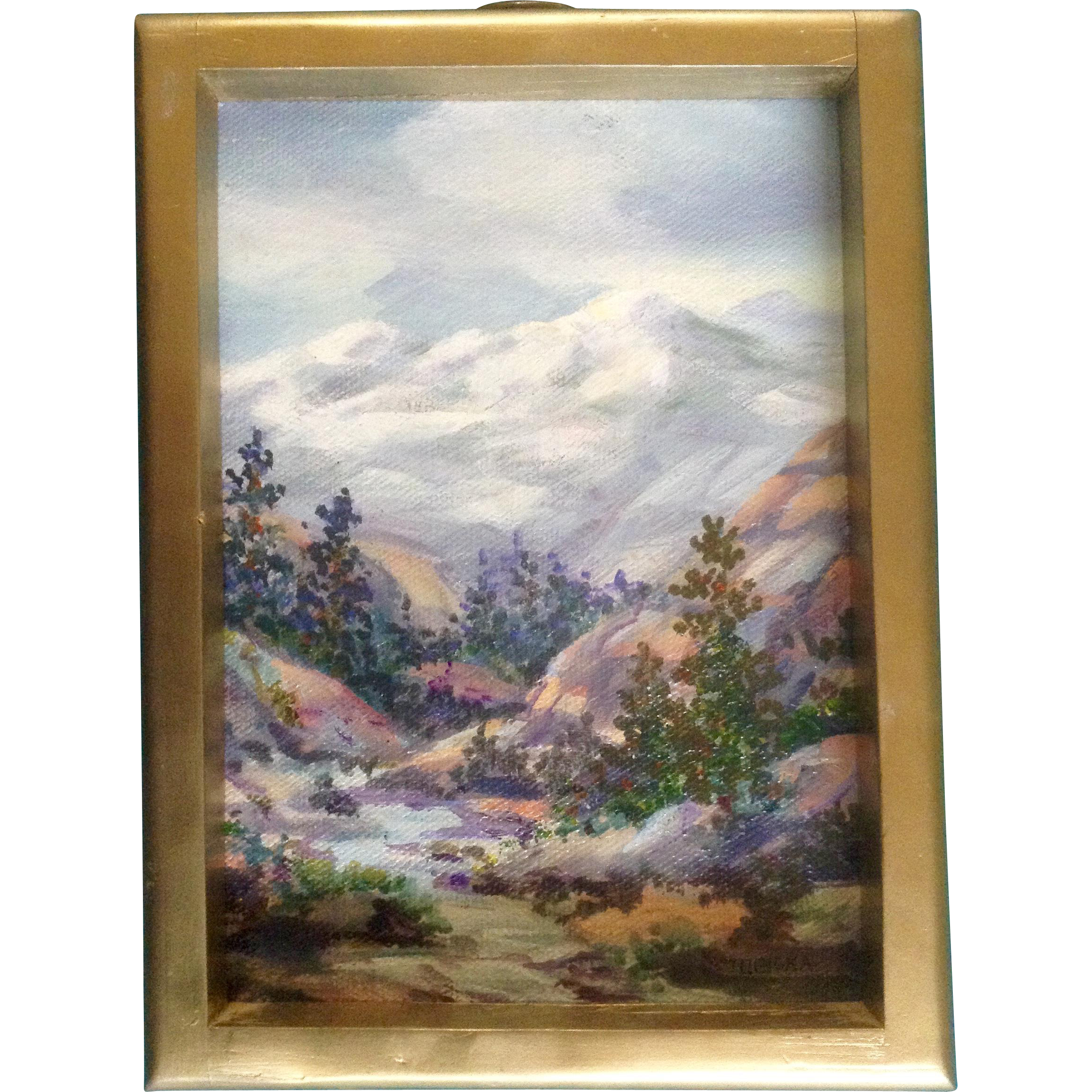 Barbara l tobiska small oil painting on canvas board for Small canvas boards