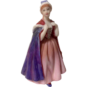 "Royal Doulton ""Bess"" Miniature Ladies Fine Porcelain Figurine M210 2004"