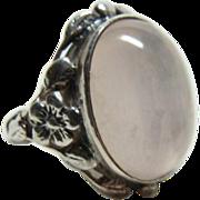 Arts and Crafts Quartz Ring - Red Tag Sale Item