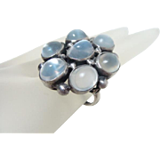Antique Arts and Crafts Moonstone Ring