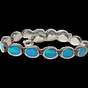 Vintage Opal Line Bracelet