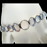 Deco 10kt Gold Moonstone Bracelet