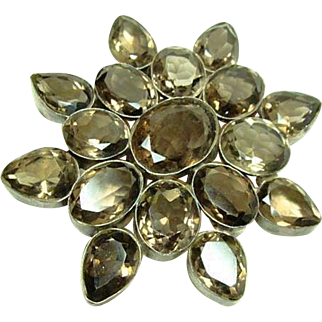 Huge Handmade Gemstone Buckle