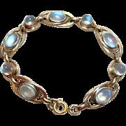 Vintage Blue Moonstone Bracelet