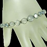 Fine Deco Moonstone Bracelet