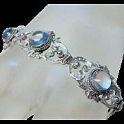 Vintage Peruzzi Moonstone Bracelet