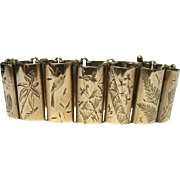 Antique Aesthetic Period Etched Bracelet