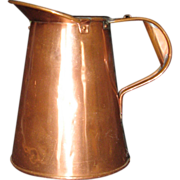 Vintage 1 Qt Copper Pitcher