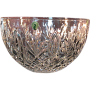 """Waterford Crystal Classic Centerpiece Hospitality 10"""" Bowl Granville signed Jorge Perez"""
