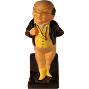 Royal Doulton Mini Mr Pickwick Bone China Figurine from Charles Dickens - Red Tag Sale Item