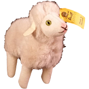 Steiff Standing Lamb Flori - Ear Button and Tag 1518/11