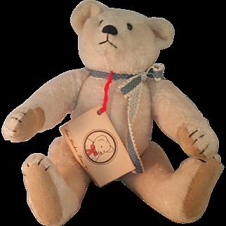Vintage Artist made Teddy Bear by Marcia Sibol of Bar Harbor Bear Company 1984